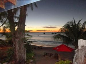 Utsikt fra Barbados Cruising Club