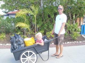 Skittentøyet leveres, Port Louis Marina