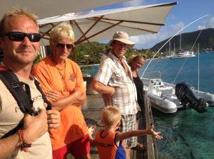 Bjørn Arne, Jan fra Quiet Place, Raymond fra Verbena og Jonas