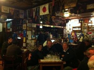 Trivelig kveld med seilerene Carmen og Morrits på S/Y Sterre