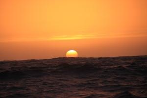 Solnedgang på Atlanteren