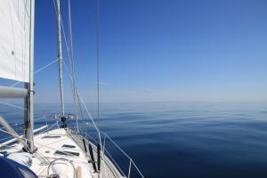 Blikk hav på tur mot Bergen